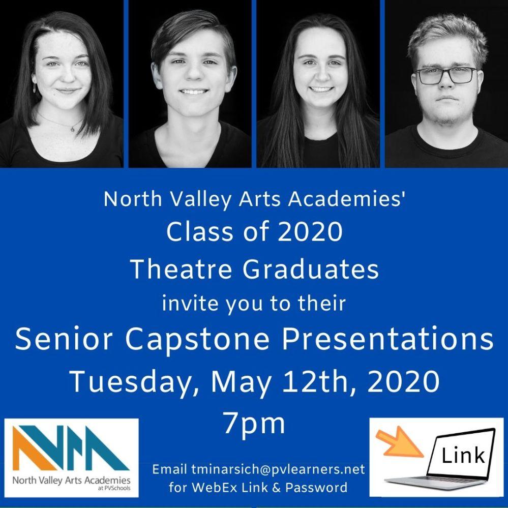 NVAA Theatre Capstone Invitation